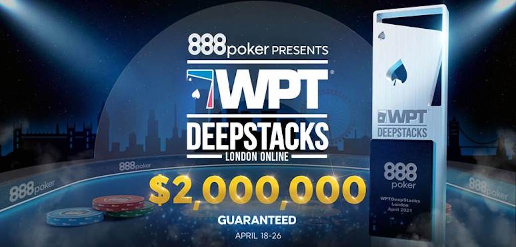 WPTDeepStacks London Online kicked off on 888poker Sunday. The site also launched a new Twitch channel as part of the festivities.